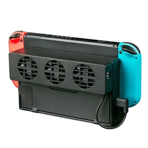 دوبي TNS-1719 USB مروحة تبديد الحرارة مروحة مروحة المروحة ل nintendo التبديل لعبة وحدة التحكم