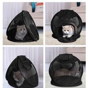 Foldable Dog Carrier Portable Mesh Pet Puppy Travel Bag Outdoor Backpack Small Dog Cat Chihuahua Carrier Handbag Pet qylmpg
