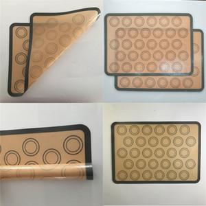 Toptan Bakeware Masa Mat Silikon Pişirme Paspaslar Pişirme Liner En Iyi Silikon Fırın Mat Isı Yalıtım Pedi Pişirme Pasta Araçları BC 220 G2