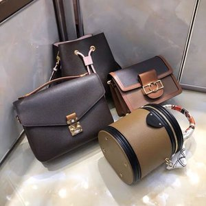 High quality leather multi pochette metis set crossbody bag fashion shoulder hand bags women totes handbags top cross body purses pcs