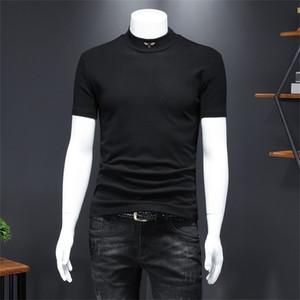 Free shipping 2020 new brand T-shirt fashion all-match pullover short sleevePNMIGXLC