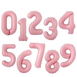 Número Balões 40 Inch hélio balão de ar Folha de alumínio Balões Número feliz aniversário de casamento do balão da festa Detalhes no EEC1193