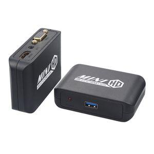USB 3.0 لتحويل HDMI VGA محول الفيديو، محطة خارجية الرسومات بطاقة فيديو قفص الاتهام - USB لمحول HDMI VGA