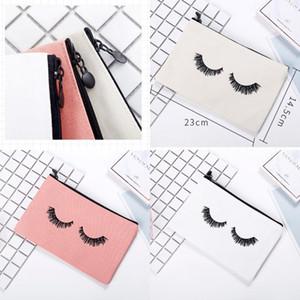 Bolsas preciosas bolsas cosméticas Suministros Documentos divertidos Multi lienzo pestañas New Woman Hombre Bolsillo Función de inicio 3 8ZX K2
