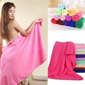 Microfiber Bath Towels Beach Drying Bath Washcloth Shower Towel Swimwear Travel Camping Towels Shower Cleaning Towels 70x140cm OWE2101