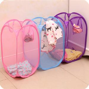 Lavanderia bag cestino pieghevole pop-up lavaggio vestiti da cesto manetto maglia stoccaggio per bambini giocattoli scarpe sundras stoccaggio DHL spedizione gratuita 140 G2
