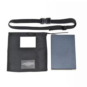 Neue Designer-CD X Alyx taktischer Ledergürtel italienischer Nylon-Gürtel für Männer und Frauen Widh5cm Länge126cm