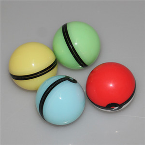 Silicon 2 Ball Food Grade Silicone Ball Container Jar for glass bongs silicone nectar collector silicone wax mats and dabber tools