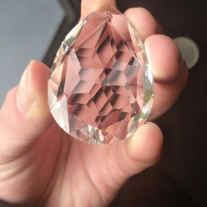 38mm Clear Crystal Drops Chandelier Pingente Lâmpada Prismas Prismas Chrismas Decoração Pendurado SunCatcher 38mm Clear H Jllkbr