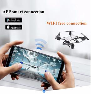 Drones FPV WiFi FPV de RC 1080P pliables avec caméra HD Mini drone hélicoptère hélicoptère Drone