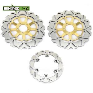 Bikingboy Front Front Freno Discos Discos Rotores para ZR 1100 Zephyr 93 94 95 96 97 98 02 03 04 05 ZR 1100 Zephyr A 92-951