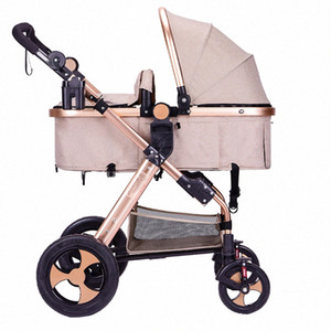 2020Luxury 3 в 1 Детская коляска High Landscape Детские Carrier Big Space для 0-36 месяцев Автокресло hDSV #