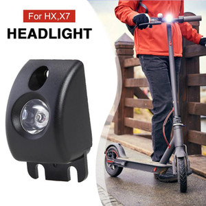 Electric Scooter Bike Headlight Front Lamp Lighting Electric Bicycle Light for HX X7 Accessories