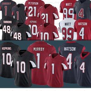 1 Kyler Murray 10 Deandure Hopkins 48 Isaia Simmons 4 Deshaun Watson 99 J.J. Jersey da calcio Watt 90 Ross Blacklock