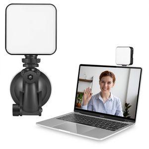 Luz de relleno para el ordenador portátil de videoconferencia de iluminación alejado de Trabajo de luz LED para la grabación de vídeo Auto Transmisión en vivo