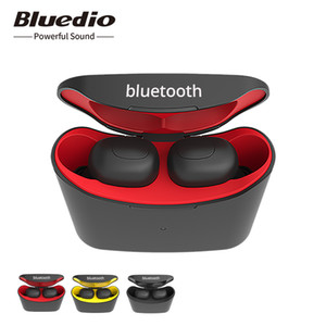 Bluedio T-elf mini TWS earbuds Bluetooth 5.0 Sports Headset Wireless Earphone with charging box for phones