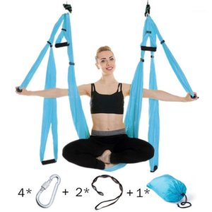 Anti-gravity Aerial Yoga Hammock Set Multifunction Yoga Belt Flying Inversion Tool for Pilates Body Shaping with Carry Bag1