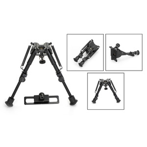 Areyourshop 5.5-8 Inches Precision Grade Sling Swivel Stud & Hunting Bipod Compact+Adapter Tactical equipment Accessories Parts