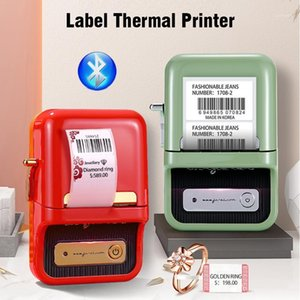 Niimbot B21 jewelry Thermal Sticker Mini barcode label printer bluetooth protable pocket bar code price printer for cloth market1