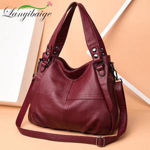 LANYIBAIGE роскошь дизайнерские сумки высококачественные мягкие кожаные сумки дамы Corssbody рука для женщин сумка Bolsas C1223