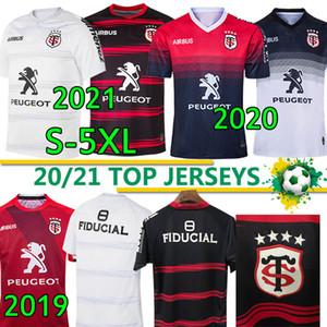 Toulouse Munster City Rugby Trikots 2021 Neues Zuhause 2020 Stade Touousain 2019 Liga Jersey Lentulus Shirt Freizeit Sporttraining S-5XL