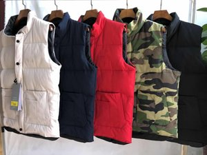 2020 A estrenar Mens Freestyle Real Pluma Down Winter Fashion Chaleco BodyWarmer Avanzado WindstPper Tela impermeable