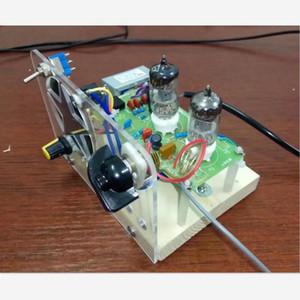 Kits de modulación de frecuencia de vesícula biliar, FM dos lámparas, tubo de electrones de súper regeneración, 6J1 + 6J1 Drive Horn1