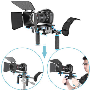 DSLR Movie Video Making Rig corredo stabilito sistema per la macchina fotografica Canon Nikon DSLR SLR