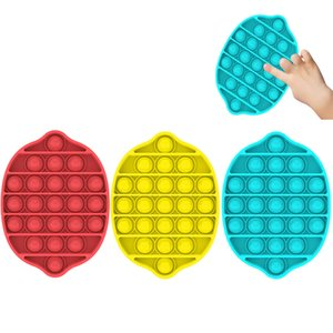 Bubble Sensory Toys Stress Reliever Silicone Hand Antistres Toy For Kids Adult Child Funny Anti-stress Pops It Fidget Toys