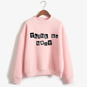 Ariana Grande Pullover Women 7 Rings Fashion Harajuku Thank U, Next Sweatshirt 90s Hip Hop Long Sleeve Ulzzang Hoodie Top Female