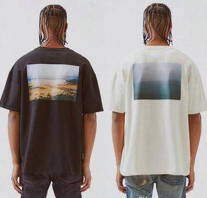 FEAR OF GOD Essentials T-shirts FOG Boxy Photo New CA Limited Casual Short Sleeves T Shirts Street Hip Hop Men Women Summer Oversize Tee