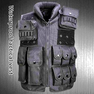 Tactical Vest Combat Armor Mens Camouflage Molle Hunting Assault Shooting Hunting Plate Carrier With Holster CS