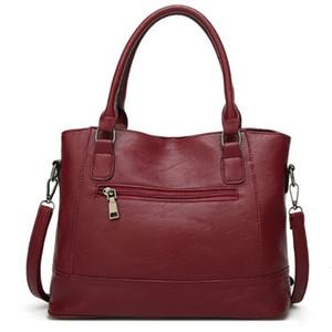 Ladies Leather Handbag Designer Top Handle Bag Vintage Tote Crossbody Shoulder Bag Fashion Clutch for Women