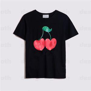 21ss New Women Mujeres Mens Designers T Shirts Tshirts Moda Carta Impresión Manga corta Lady Tees Luxe Womens Ropa casual 2021 Ropa