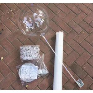 Led Bobo Balloon With 31.5inch Stick String Balloon Light Christmas Halloween Wedding Birthday Party Decoration Bobo jllTrx bdebag