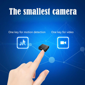 XD IR-CUT كاميرا صغيرة أصغر كامل 1080p HD كاميرا الأشعة تحت الحمراء للرؤية الليلية مايكرو كاميرا كشف الحركة DV