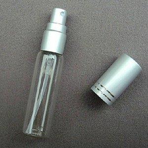 50PCS 10ml Pump Perfume Sprayer Atomizer Glass Empty Bottle With Aluminum Cap High Quality Spray Scent