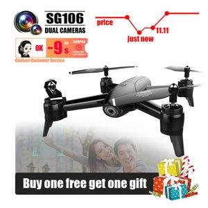 Drones SG106 с камерой HD Dron RC вертолет беспилотник 4K игрушки Quadcopter Drohne Quadrocopter Helikopter Selfie дистанционного управления 201208