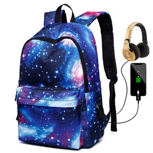 New Galaxy Laptop Backpack,Star Water Resistant College Students Travel Computer Notebooks Backpack for Men Women