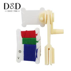 Пластиковые резьбы Катушки катушки резьбы CardString Winder для Holder Вышивка крестом Вышивка зубочистки Craft хранения DIY швейные инструменты