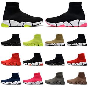 Top Quality Socker Designer Sapatos Mens Sapatilhas Das Mulheres Graffiti Vintage Sapatos Casuais Preto Branco Volt Sola Mulheres Luxury Socks Botas
