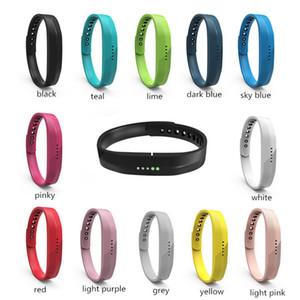 Silicone Replace Wrist Band Strap Bracelet For Fitbit Flex 2 Smart Watch Smart Band Replace Bracelet 12colors fashion design