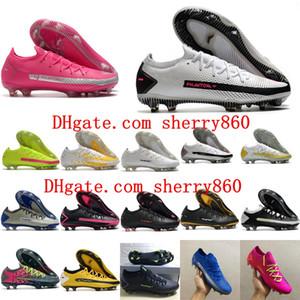 2020 de qualité supérieure mens crampons de football chaussures Phantom GT Elite Tech Craft FG football chaussures de football chuteiras da calcio scarpe