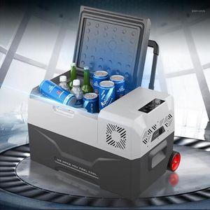 30L refrigerador auto-refrigerador 12V portátil mini refrigerador compresor refrigerador refrigerador refrigerador camping Nevera Portatil1