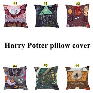 Harry Potter yastık Ateş Hug Yastık Koltuk Ofis Bel Yastık kılıfları Ev Araba Yastık durumda 45 * 45cm AAD2175 Kadehi kapsayacak