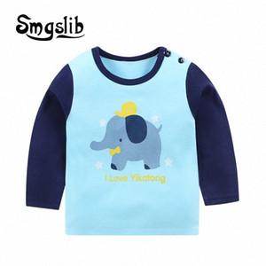 Smgslib рубашка футболка для Детских Детей Девочки Мальчиков Мальчика рубашка динозавра Детских Детского Kid Хлопок Мультфильм Верхней одежды NLRI #