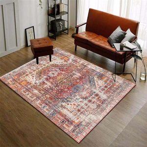 Vintage Moroccan Carpet Living Room Retro American Bedroom Rug Home Office Coffee Table Floor Mat Study Rugs And Carpets Doormat