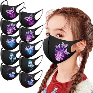 new winter 5 10 25pcs Children's Face Washable caps Reusable Mouth Bandanas Breathable Adult Fabric Mask Mascarilla#YL5
