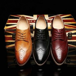 Sonbahar yeni Sivri gündelik deri ayakkabılar oxford ayakkabılar erkekler iş elbisesi Düğün zapatillas C22-26