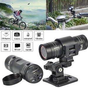 Mini Kameralar Full HD Araba Video Kaydedici Motosiklet DV 1080 P F9 Bisiklet Kamera Eylem Kamera